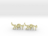 "Hebrew Name Cufflinks - ""Yechiel"" 3d printed"