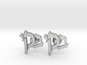 "Hebrew Monogram Cufflinks - ""Beis Yud Kuf"" 3d printed"