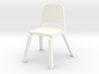 1:48 Wenger Music Chair 3d printed