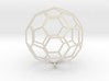 Carbon Buckyball (C60) 3d printed