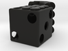 Plugged Dice 3d printed