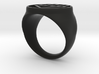 Black Lantern Ring (21) 3d printed