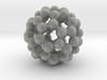 C60 - Buckyball - L - Steel 3d printed