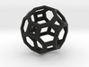 Truncated cuboctahedron 3d printed