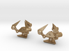 Tribot Cufflinks 3d printed