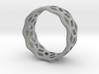 geometric ring 5 3d printed