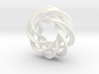 4 strand mobius spiral NO ball 3d printed