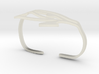 Eye of Horus Two Finger Ring 3d printed