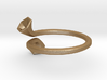 Double Trumpet Ring 2 3d printed