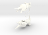 Rat Earings 3d printed