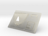 Front Plate Iconic 3d printed