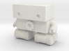 Robot 0025 Tank Tread Bot With Cog And Hands 3d printed