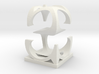 Two way letter / initial S&S 3d printed