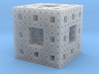 Menger frosted 3d printed