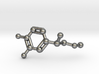 Adrenaline Molecule Necklace Keychain 3d printed