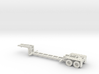 HO 1/87 MSW Trash Train Lowboy road trailer 3d printed