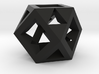 Cuboctahedron -- drilled with tetrahedral symmetry 3d printed