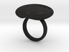 S46 Ellipse Ring Dear @ 30 mm 3d printed