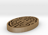 Celtic Knotwork Oval 3d printed