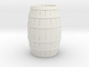 Wood Barrel 3d printed