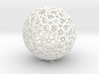Islamic star ball with ten-pointed rosettes 3d printed
