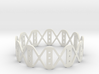 [Flextest] Criss Cross Style Bangle 3d printed
