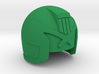 Judge Helmet 3d printed