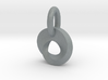 Mobius strip pendant 3d printed