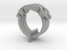 Holistic Ring 3d printed