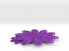 Both small and large flower tos starfleet insignia 3d printed