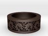 Sunflower Ring Ring Size 9 3d printed