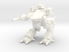 Mecha- Guardian II (1/110th) 3d printed