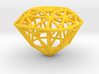 Tiffany Yellow Diamond Modern Intpretation - nylon 3d printed