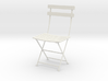 "Bryant Park Bistro Chair 3.7"" tall 3d printed"