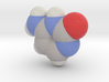 Cytosine molecule (x40,000,000, 1A = 4mm) 3d printed