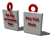 Japanese / Chinese Kanji Pet Tags 3d printed Chose the best style to fit your needs