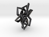 Braided Pointy Star Pendant 3d printed