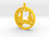"""Children's Wall Charm """"Little Red Riding Hood"""" 3d printed"""