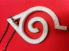 Hidden Leaf Pendant 3d printed