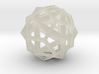 IcosoDodecahedron Thick - 3.5cm 3d printed