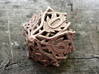 Botanical Die10 (Oak) 3d printed In stainless steel