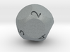 d9 - Nine-Sided Die 3d printed
