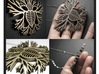 Branching Skeletal Heart 3d printed