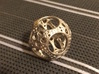 Apollonian Octahedron Mini 3d printed Polished Nickel Steel