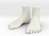 """LittleFeet for Everything - Human (1.5""""h) 3d printed"""
