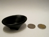 Simple Bowl 3d printed With a US-Quarter and a 2 euro coin
