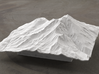6'' Mt. Shasta Terrain Model, California, USA 3d printed Radiance rendering