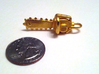 Army of Darkness / Evil Dead Chainsaw charm 3d printed