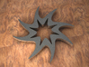 Twisted 8-pointed Star 3d printed