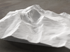 8'' Longs Peak Terrain Model, Colorado, USA 3d printed Radiance rendering